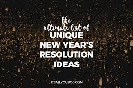 4 New Year 2020 Resolution Ideas For Students Recursource
